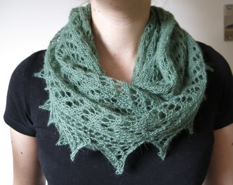 PATTERN Lace Shawl Knitting Pattern Pdf / Lace Scarf Knitting Pattern Pdf / Lace Wrap Knitting Pattern Pdf