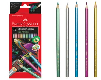 Faber-Castell Metallic Colored Pencils
