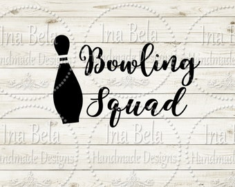 Bowling Svg,Svg Files for Cricut,Svg Files Sayings,Svg Cut Files,Silhouette Svg Files,Instant Download,Laser Cut File,Svg Scrapbooking