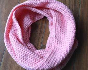 Toddler/Child Crocheted Infinity Scarf