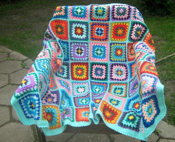 20% venta abuela cuadrados afganos manta caliente abrigo