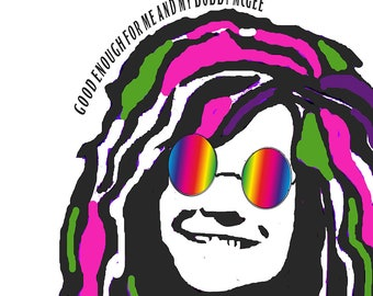 Feelin' Good | Joplin Inspired Lyric Art Print