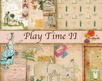 Play Time II (Digital paper)