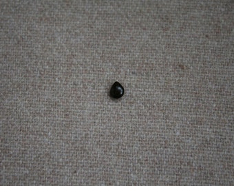 Drops wooden piercing ball lens ebony 5 x 4 mm to 1.2 mm thread