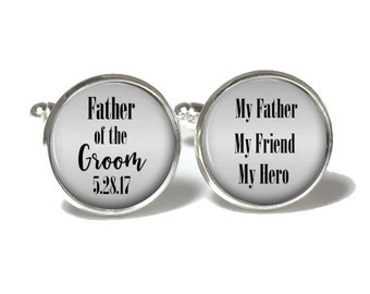 Father of the Groom Cufflinks Style 724