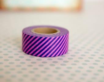 Masking tape, washi tape violet/pourpre Masté MT 15mm x 7m