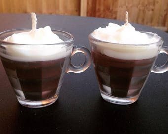 Mini Coffee Shot Scented Soy Wax Candle