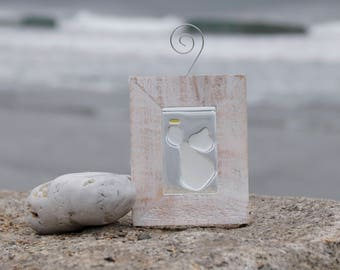 Angel Sea Glass Mini Window Art