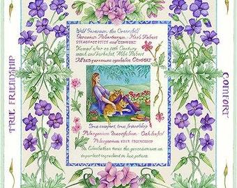 The Language of Flowers  Geraniums