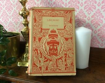 Lavengro, Borrow, Vintage Book, Book Lover Gift, Art Deco Book, Vintage Fiction, Antique Book, Book Gift Classic Literature