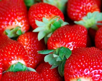 Mouth Watering Strawberries - Ultra-Strong Fragrance Oil - Candle - Soap - Lotion