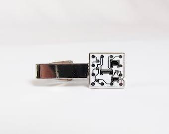 Vintage Circuit Board Tie Clip