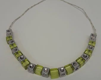 Lima Square Necklace