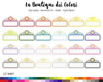 50 Rainbow Movie Marquee Clipart, Cute Digital Graphics PNG, Theater Sign, movie time, cinema Planner Stickers Clip art Commercial Use