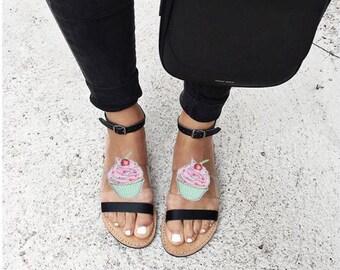 Cupcake - shoe clips