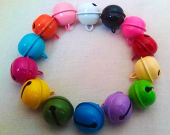 Add - on - Medium Bells 22 mm for Any BYO Kitten Play Collar, Choker, Craft etc