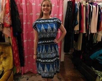 1960's Hawaiian Dress