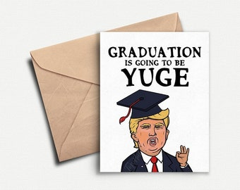Funny Graduation Card Funny Graduation Gift for Her Grad Gift for Him College Graduation Invitation High School Graduation Party Invite