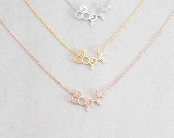 LSD Molecule Necklace (3 colors)