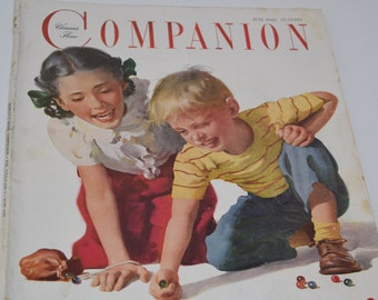 Vintage June 1949 Woman's Home Companion Magazine