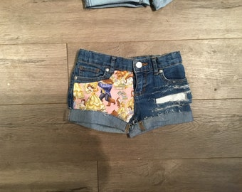 Beauty and the beast shorts