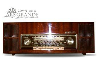 Vintage AM/ FM Tube Radio LOEWE Opta Germany - Model Luna Stereo  1960s