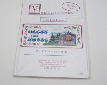 Bless This House Cross Stitch Pattern Mike Vickery Cross Stitch Patterns Bless This House