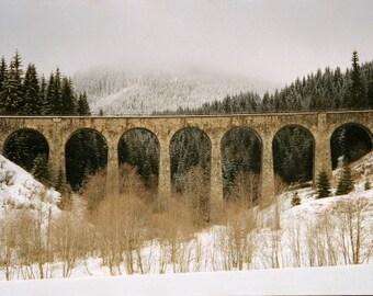 Bridge to High Tatras-Siobhan Photography-Fine Art Photography-Landscape