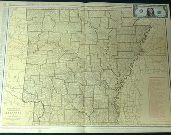 Original Antique Maps and Prints by Maptiques on Etsy
