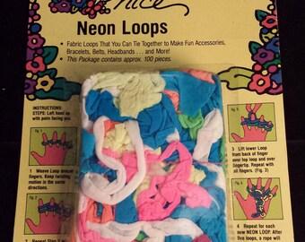 Durado Everything Nice Neon Fabric Loops, NIB