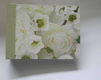Green Pink White Relon hardcover photo album