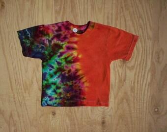 2T AutumnFire Tie Dye Toddler