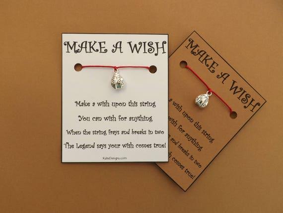 Ladybug Ladybird Wish Bracelet