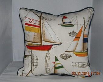 Sail Away pillow