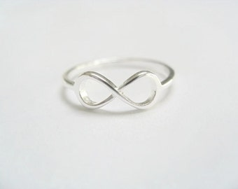 Infinity Ring Sterling Silver - Small Infinity*