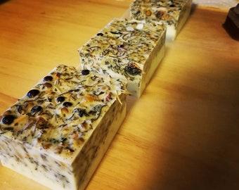 Herbal Tea Bar Soap & Muslin Bag