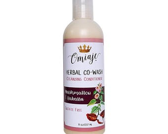 Herbal Co-Wash | Marshmallow & Babassu | Natural Hair Cleansing Conditioner