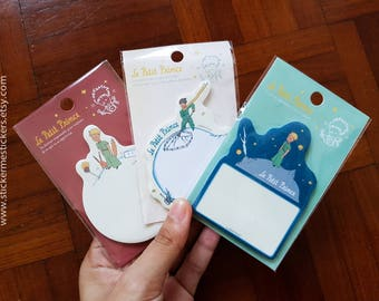 30 SHEETS, Little Prince sticky notes, Le Petit Prince, Sticky Memo, Little Prince memo, Little Prince post it note
