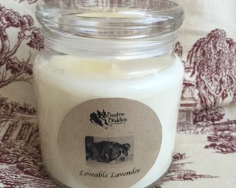 Love-able Lavender - 25oz. Rescue Soy Candle