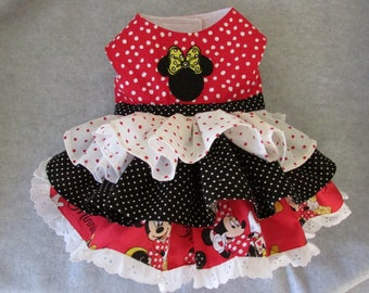 Doggie Minnie Mouse Dress
