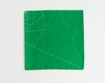 Free Shipping Worldwide / Triangles Pocket Square