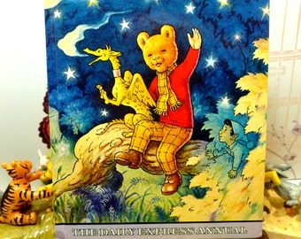Rupert the Bear Annual 1979 Daily Express Excellent Vintage Rupert Childrens Book from the 1970s
