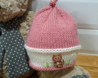 Cat in the Garden Pure Wool Hat - 1848