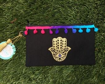 Colorful pouch/makeup bag