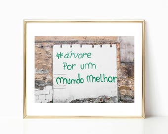 Portugal Wall Decor // Graffiti Art Decor // Lisbon // Graffiti Prints // Travel Photography // Portugal Prints // Graffiti Photography