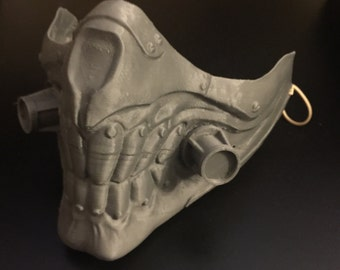 Wearable Immortan Joe Mask Inspired by Mad Max Fury Road