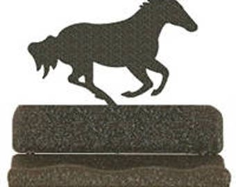 Horse business card etsy business card holder galloping horse design colourmoves Choice Image