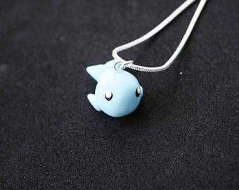 Cute whale necklace