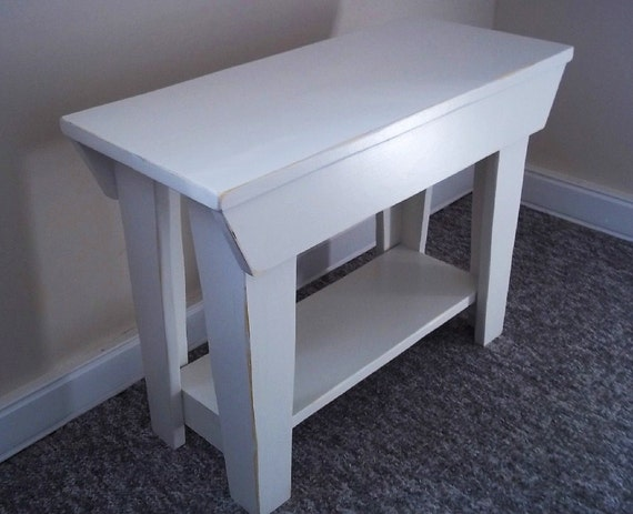 Used Foyer Bench : Shabby inch entry wood bench furniture entryway