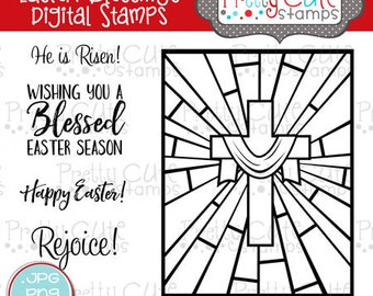 Easter Blessings DIGITAL Stamp Set